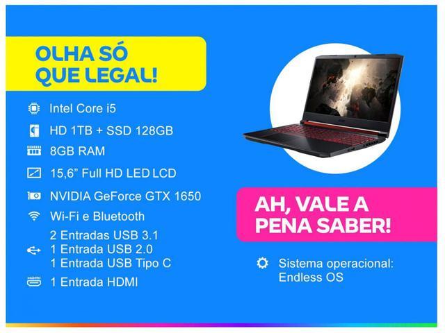 Imagem de Notebook Gamer Acer Nitro 5 AN515-54-58CL Intel