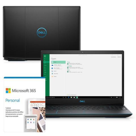 "Notebookgamer - Dell 3500-m20pf I5-10300h 2.50ghz 8gb 512gb Ssd Geforce Gtx 1650 Windows 10 Home G3 15,6"" Polegadas"