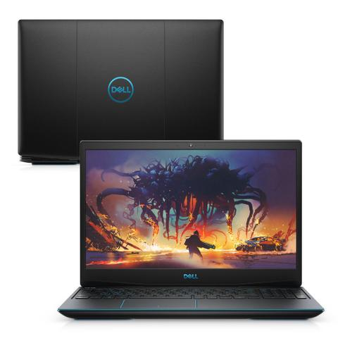 "Notebookgamer - Dell G3-3590-u60p I7-9750h 4.0ghz 8gb 512gb Ssd Geforce Gtx 1660 Ti Linux Gaming 15,6"" Polegadas"