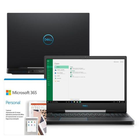 "Notebookgamer - Dell G5-5590-a56p I5-9300h 4.0ghz 8gb 512gb Ssd Geforce Gtx 1650 Windows 10 Home Gaming 15,6"" Polegadas"