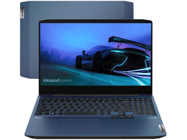 """Notebookgamer - Lenovo 82cg0001br I7-10750h 2.60ghz 8gb 256gb Ssd Geforce Gtx 1650 Windows 10 Home Ideapad 15,6"""" Polegadas"""