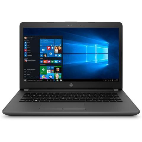 Imagem de Notebook HP 246 G6 Intel Core i3- 6006U 4GB 500GB Tela 14 HD Windows 10 - Preto