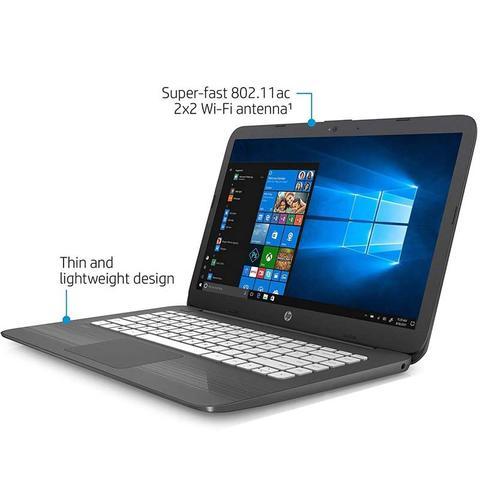 Imagem de Notebook HP Intel Dual Core 4GB SSD 32GB Windows 10 14