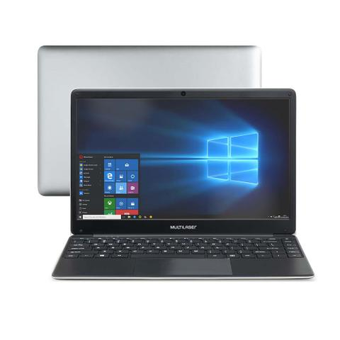 Imagem de Notebook Legacy Book Intel Celeron 4GB 64GB 14.1 Pol. HD Windows 10 Cinza Multilaser - PC230