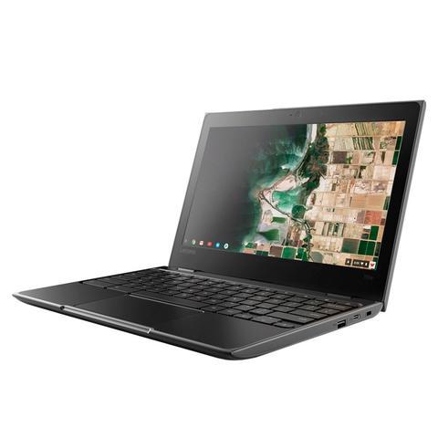 Imagem de Notebook Lenovo Chromebook 100E Intel Celeron N3350 RAM 4GB eMMC 32GB Tela 11.6'' 81ER0002US Preto