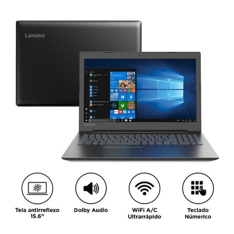 "Notebook - Lenovo 81fn0001br Celeron N4000 1.10ghz 4gb 1tb Padrão Intel Hd Graphics 600 Windows 10 Home Ideapad S145 15,6"" Polegadas"