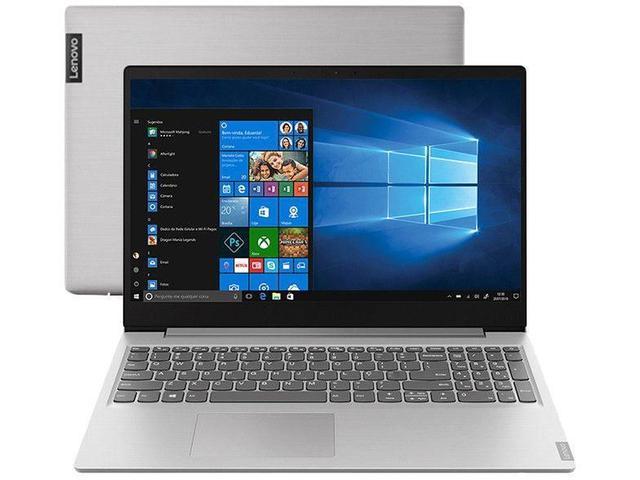 Notebook - Lenovo 81v70004br Amd Ryzen 5-3500u 2.10ghz 8gb 1tb Padrão Amd Radeon Rx Vega 8 Windows 10 Home Ideapad S145 15,6