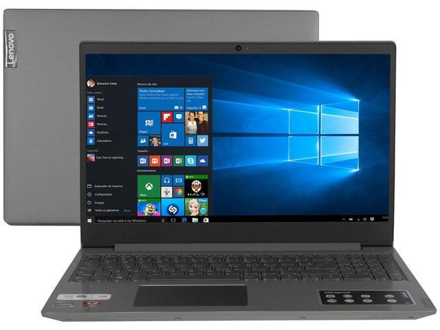 "Notebook - Lenovo 81v70005br Amd Ryzen 5-3500u 2.10ghz 12gb 1tb Padrão Amd Radeon Rx Vega 8 Windows 10 Home Ideapad S145 15,6"" Polegadas"