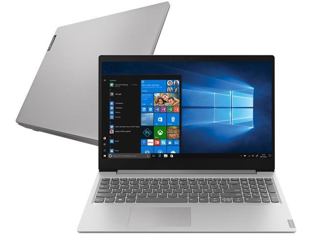 "Notebook - Lenovo 82dj0000br I7-1065g 1.30ghz 8gb 256gb Ssd Intel Iris Plus Graphics Windows 10 Home S14 15,6"" Polegadas"