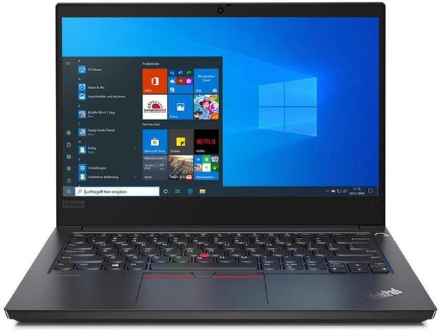 "Notebook - Lenovo 20rb000rbr I5-10210u 1.60ghz 8gb 128gb Híbrido Intel Hd Graphics Windows 10 Professional Thinkpad E14 14"" Polegadas"