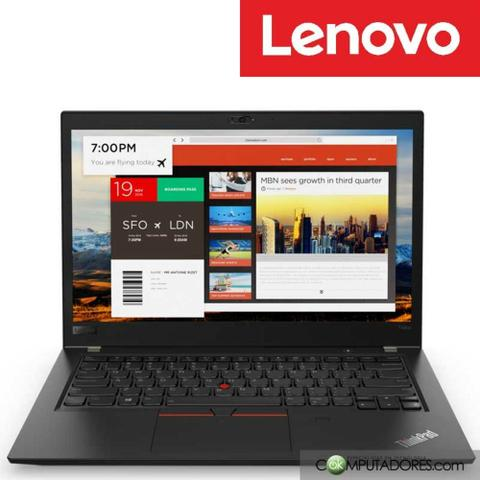 Imagem de Notebook Lenovo Thinkpad T480 Core I7 8650U 8Gb Ssd Pcie 256Gb 14 Windows 10 Pro - 20L6SCW400