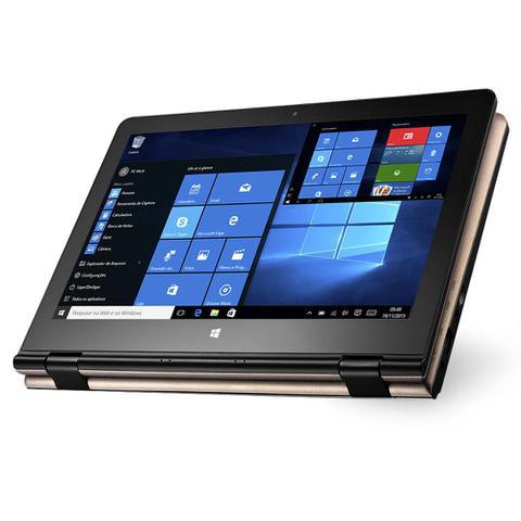 Imagem de Notebook M11W Intel Quad Ram 2Gb Windows 10 11.6 Pol. Dourado Multilaser- NB259