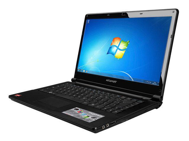 Imagem de Notebook Megaware c/AMD Dual Core