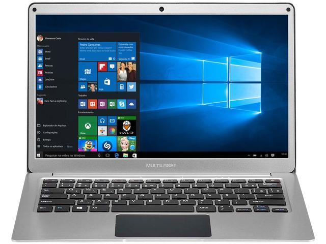 Imagem de Notebook Multilaser Legacy Air Intel Dual Core 4GB