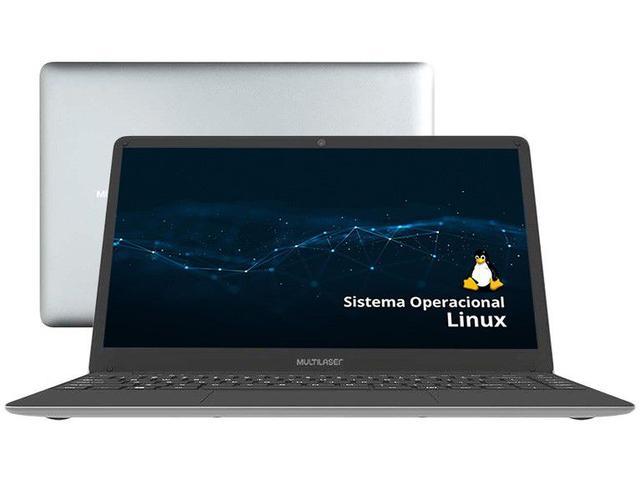 "Notebook - Multilaser Pc231 Celeron N3350 1.10ghz 4gb 500gb Padrão Intel Hd Graphics Linux Legacy 14.1"" Polegadas"