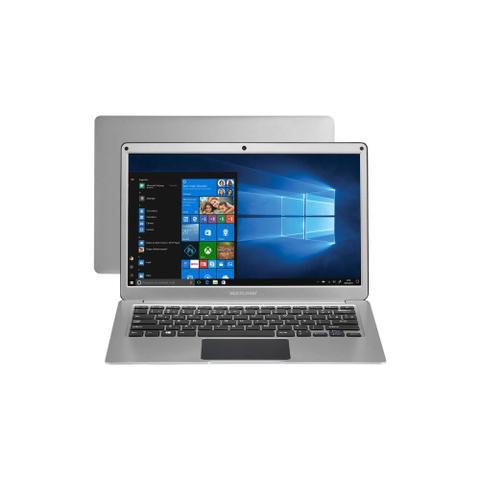 "Notebook - Multilaser Pc222 Celeron N3350 1.10ghz 4gb 64gb Híbrido Intel Hd Graphics 500 Windows 10 Home Legacy 13,3"" Polegadas"
