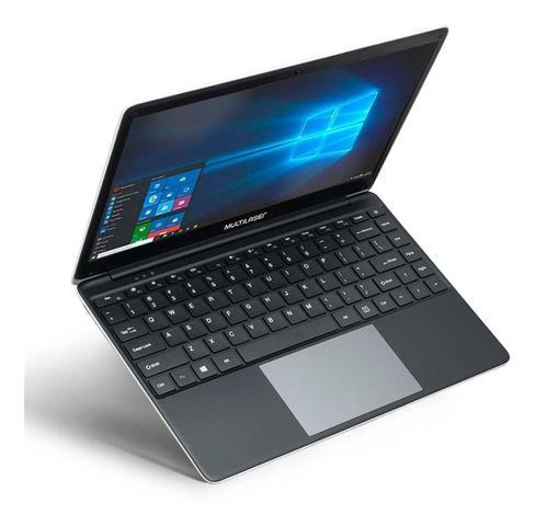 "Notebook - Multilaser Pc232 Celeron N3350 2.40ghz 4gb 120gb Ssd Intel Hd Graphics Windows 10 Home Legacy 14"" Polegadas"