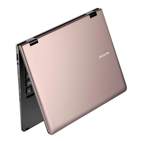 Imagem de Notebook Multilaser M11W 2GB RAM WIN10 32GB Quad 11,6 Polegadas NB259 Dourado