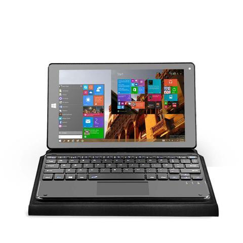 Imagem de Notebook Multilaser M8W Plus 2 em 1 Hibrido Intel Quad Core 2Gb 32Gb 8.9 Pol. Dual Câmera Windows 10 Preto - NB242