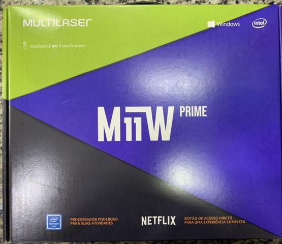 Notebook - Multilaser Pc301 Pentium N3700 1.60ghz 4gb 64gb Padrão Intel Hd Graphics 3000 Windows 10 Home M11w Prime 11,6