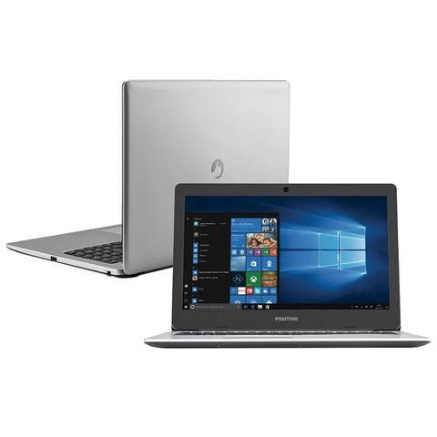 Imagem de Notebook Positivo Motion 41TA-15, Intel Core i3-6006U, Tela 15.6, HD 1TB, 4GB RAM, Windows 10 Home - Prata