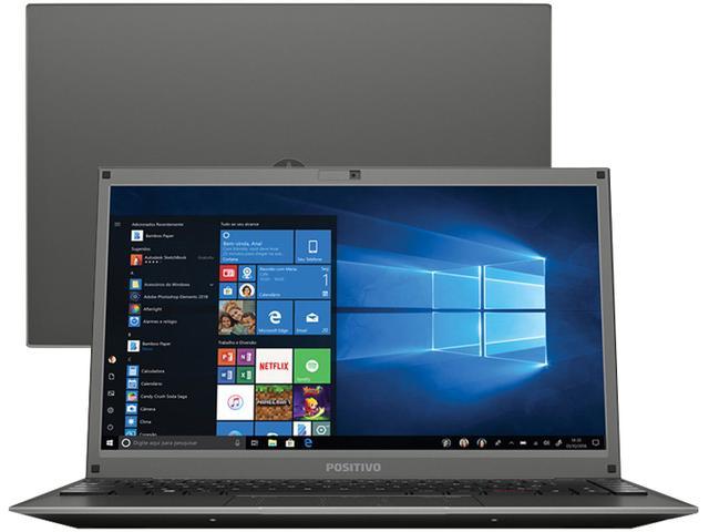 Notebook - Positivo C4500c Celeron N4000 1.10ghz 4gb 500gb Padrão Intel Hd Graphics 600 Windows 10 Home Motion 14