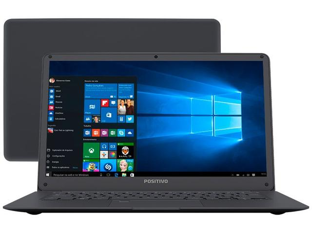 "Notebook - Positivo Q432a Atom X5-z8350 1.44ghz 4gb 32gb Ssd Intel Hd Graphics Windows 10 Home Duo 11,6"" Polegadas"