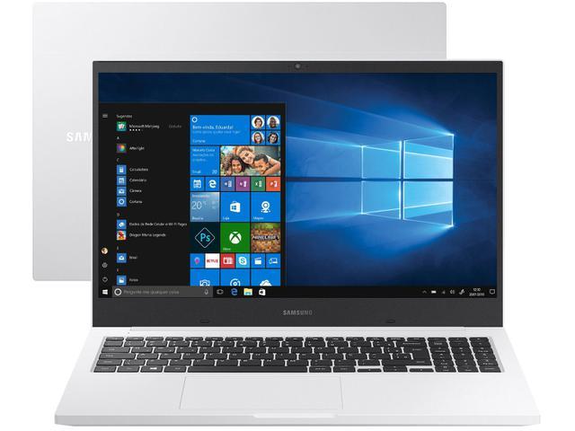 Notebook - Samsung Np550xcj-ko2br Celeron 5205u 1.90ghz 4gb 500gb Padrão Intel Hd Graphics Windows 10 Home Book E20 15,6