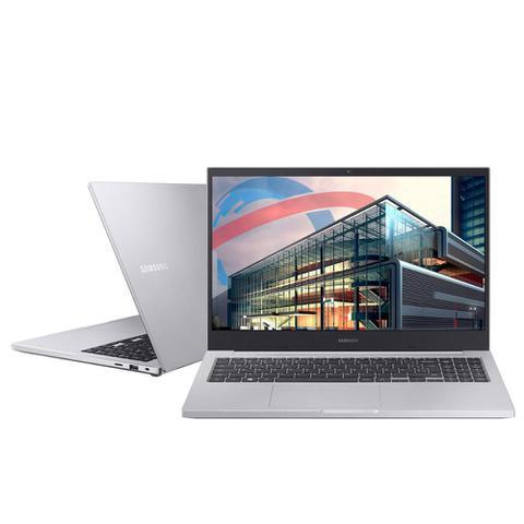 "Notebook - Samsung Np550xcj-xf3br I5-10210u 1.60ghz 8gb 256gb Ssd Geforce Mx110 Windows 10 Home Book X45 15,6"" Polegadas"