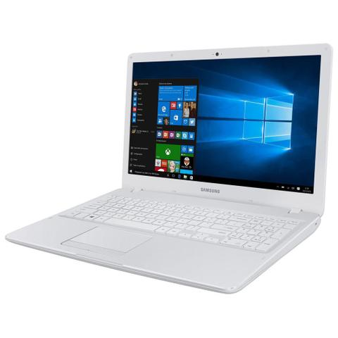 Imagem de Notebook Samsung Dual Core 4GB 500GB Tela Full HD 15.6 Windows 10 Essentials E21 NP300E5M-KFBBR