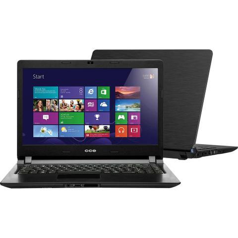 Imagem de Notebook Ultrafino CCE com Intel Dual Core 2GB 500GB LED 14 Thin  - U25