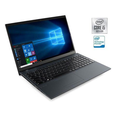 """Notebook - Vaio Vjfe52b0411h I5-10210u 1.60ghz 8gb 1tb Padrão Intel Hd Graphics Windows 10 Home Fe15 15,6"""" Polegadas"""