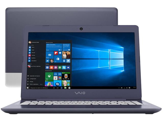 Imagem de Notebook Vaio C14 Intel Core i3 4GB SSD 128GB