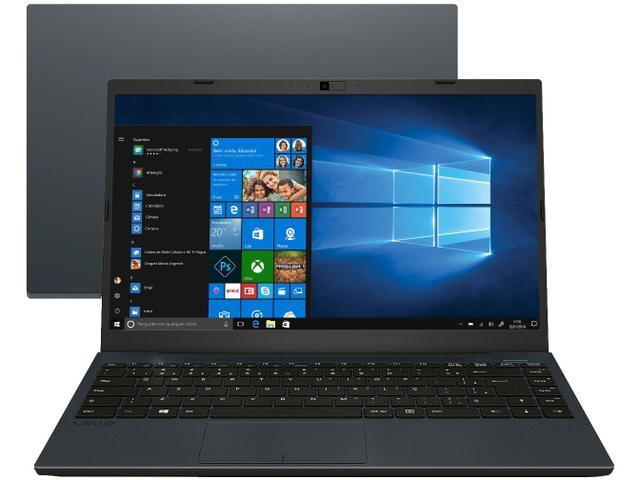 "Notebook - Vaio Vjfe43b0111h I3-1005g1 2.20ghz 4gb 256gb Ssd Intel Hd Graphics Windows 10 Home Fe14 14"" Polegadas"
