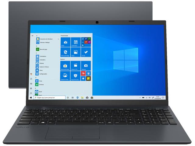 "Notebook - Vaio Vjfe51b0811h I5-8250u 1.60ghz 12gb 256gb Ssd Intel Hd Graphics 620 Windows 10 Home Fe15 15,6"" Polegadas"