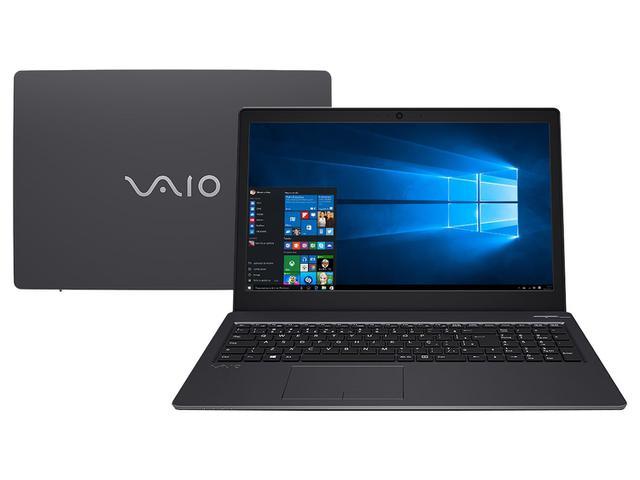 "Notebook - Vaio Vjf155b0211b I5-7200u 2.50ghz 8gb 1tb Padrão Intel Hd Graphics 620 Windows 10 Home Fit 15s 15,6"" Polegadas"