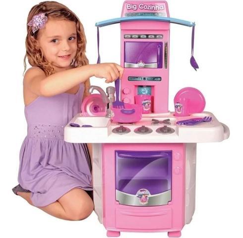 Imagem de Nova Big Cozinha Infantil Completa Big Star