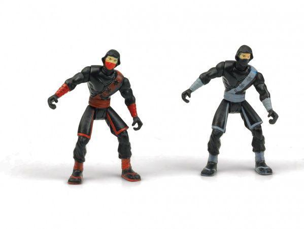 Imagem de Novo Brinquedo Boneco Mini Figura Ninjas Surpresa Dtc 4192