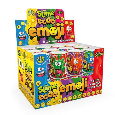 Imagem de Novo Brinquedo Slime Ecao Emoji 110g Aleatório Dtc 5057