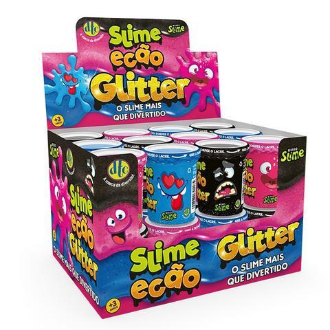 Imagem de Novo Brinquedo Slime Ecao Glitter 110g Aleatório Dtc 5055