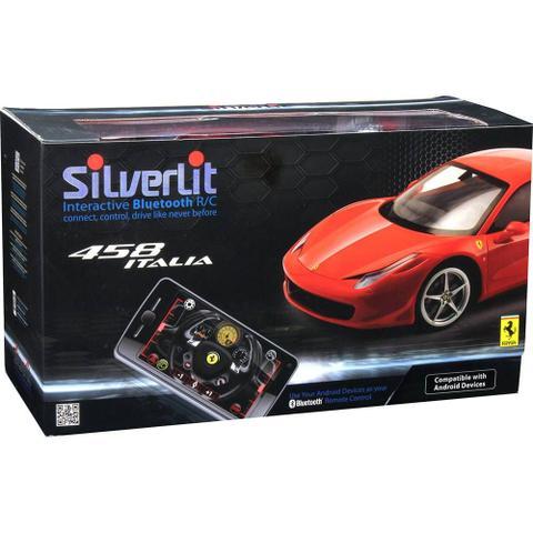 Imagem de Novo Carro Roda Livre Silverlit Ferrari 458 Italia Dtc 3160