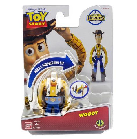 Imagem de Novo Hatch n Heroes Disney Pixar Toy Story Woody Dtc 3716