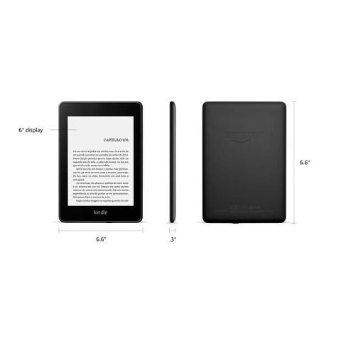 Imagem de Novo Kindle, Amazon Paperwhite, Preto 32GB Wi-Fi, Tela de 6