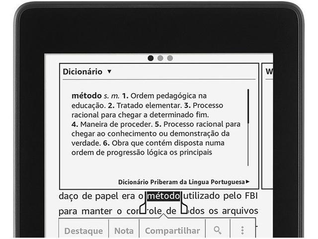 Imagem de Novo Kindle Paperwhite Amazon à Prova dÁgua