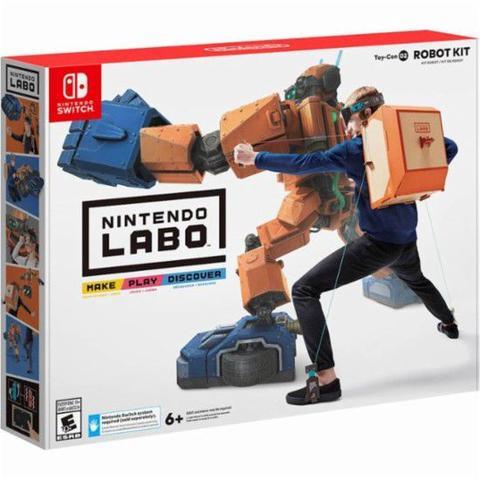 Imagem de Novo Nintendo Labo Toy Con 02 Robot Kit Lacrado Kit Robo