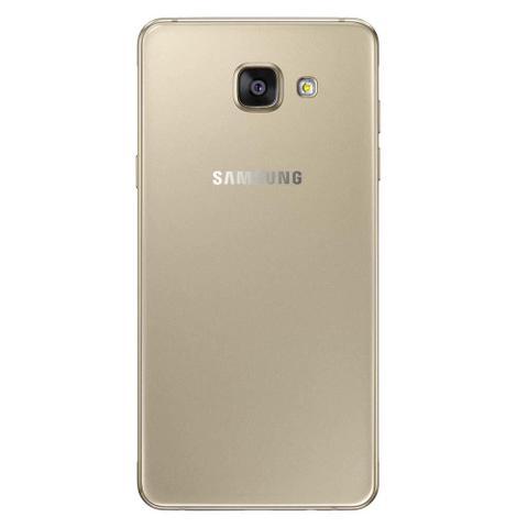 Imagem de Novo Smartphone Samsung Galaxy A5 2016 Duos A510M/DS Dourado com Dual Chip, Tela 5.2