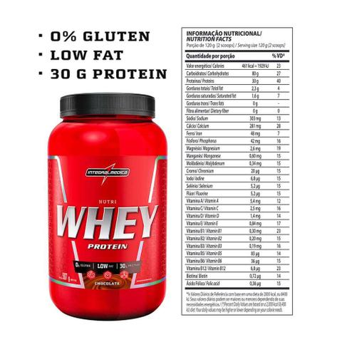 Imagem de Nutri Whey Protein 907g Integralmedica
