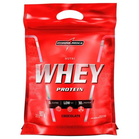 Imagem de nutri whey protein 907g refil integralmedica 1 un chocolate