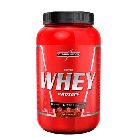 Imagem de Nutri Whey Protein Chocolate Pote 907g - IntegralMédica
