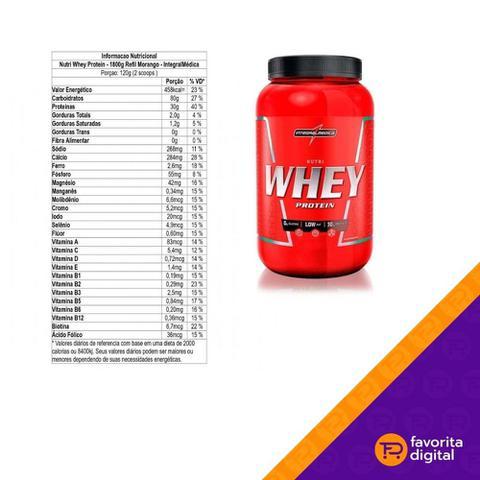 Imagem de Nutri Whey Protein Pote 907g Integral Medica- Massa Magra